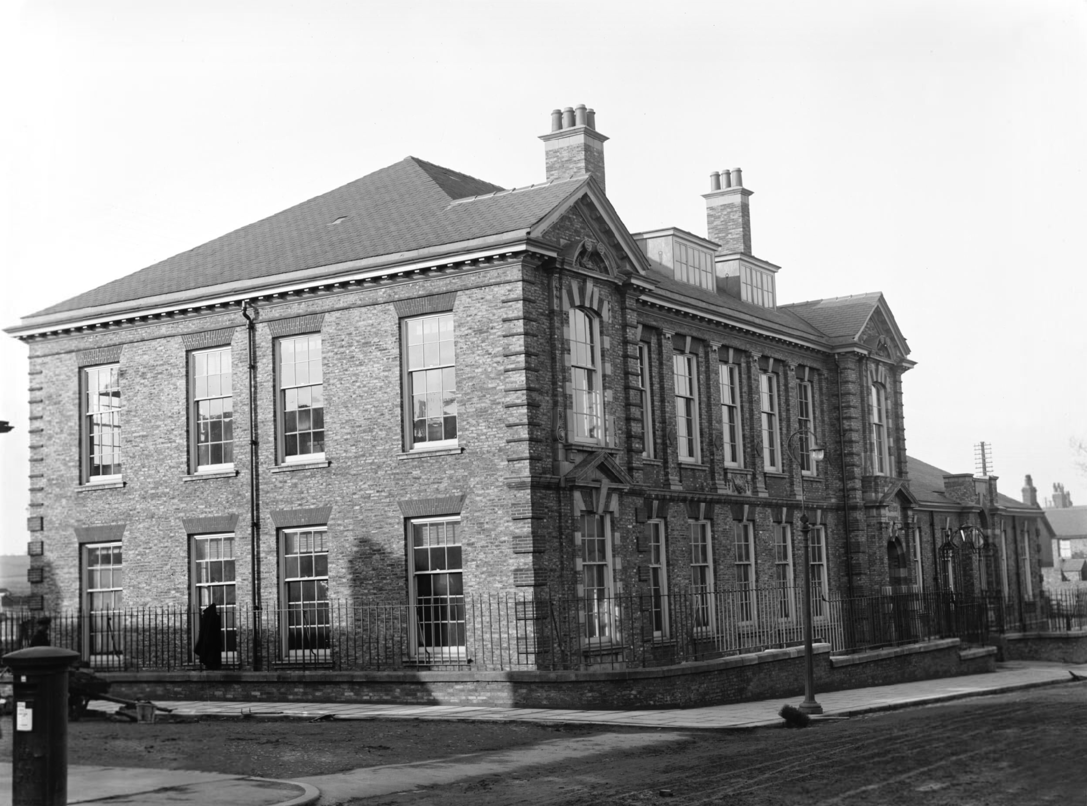 The Institute in 1913 not long after opening